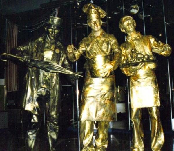 Живые статуи photo